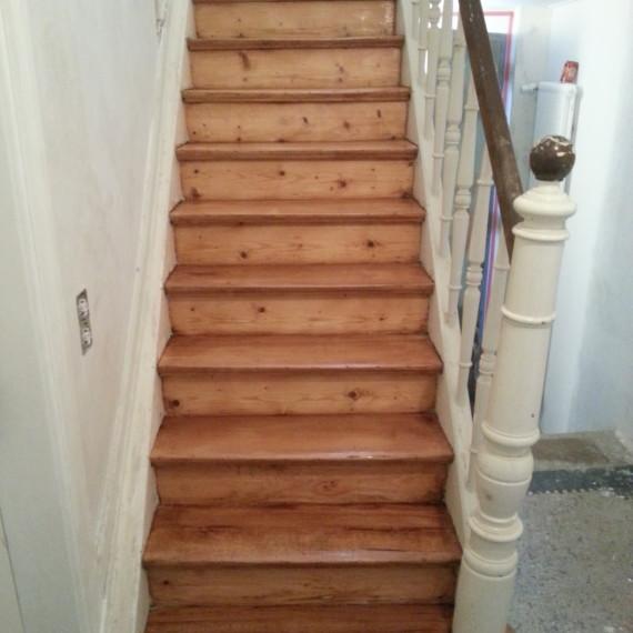 Holztreppensanierung