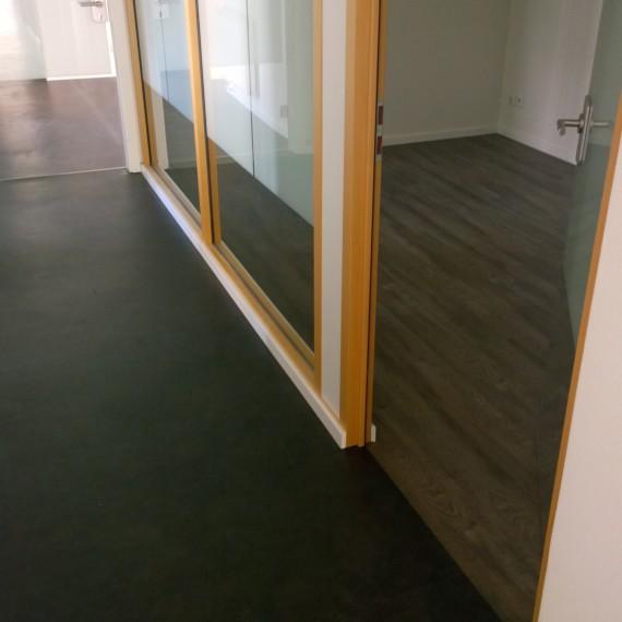 Vinylboden im Objektbereich